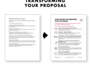 Does your proposal look dry and boring and the same as everyone else?