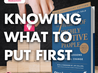 Knowing What to Put First