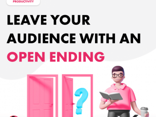 Leave Your Audience with an Open Ending
