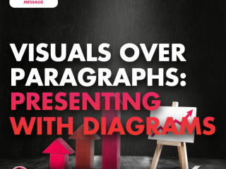 Visuals Over Paragraphs: Presenting with Diagrams